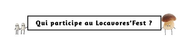 Qui participe au Locavores' Fest ?