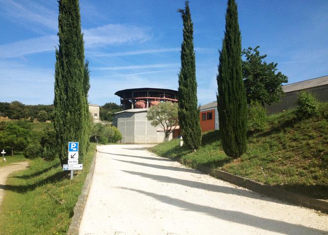 Tour de vinification Le Dôme d'Elyssas