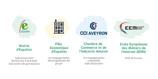 Mairie d'Espalion, Pôle Economique d'Espalion, CCI Aveyron et EEMI