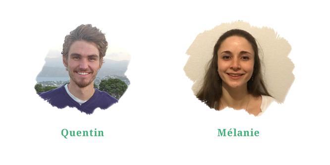 Quentin et Mélanie