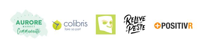 Aurore Market Communauté, Les Colibris, Mr. Mondialisation, La Relève et la Peste