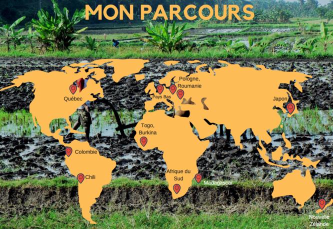 Carte parcours