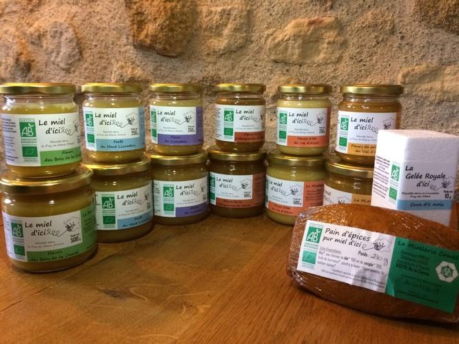 miel bio les herbiers
