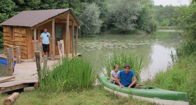 la cabane flottante