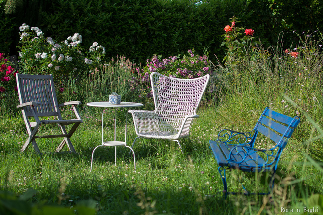 Le jardin du Bleu Canard