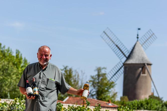 Denis Chastel-Sauzet: viticulteur