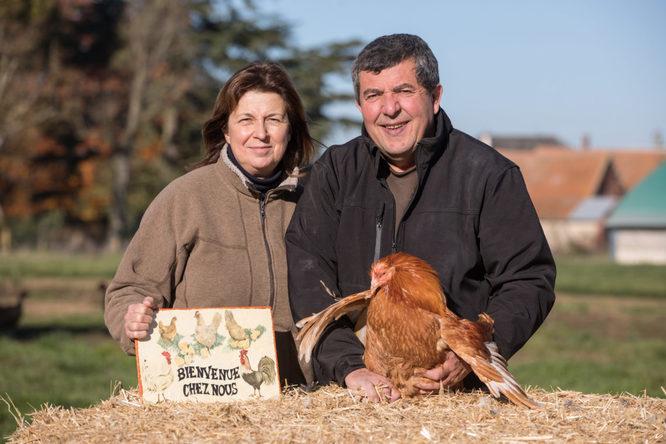 Véronique et Didier Grandvillain