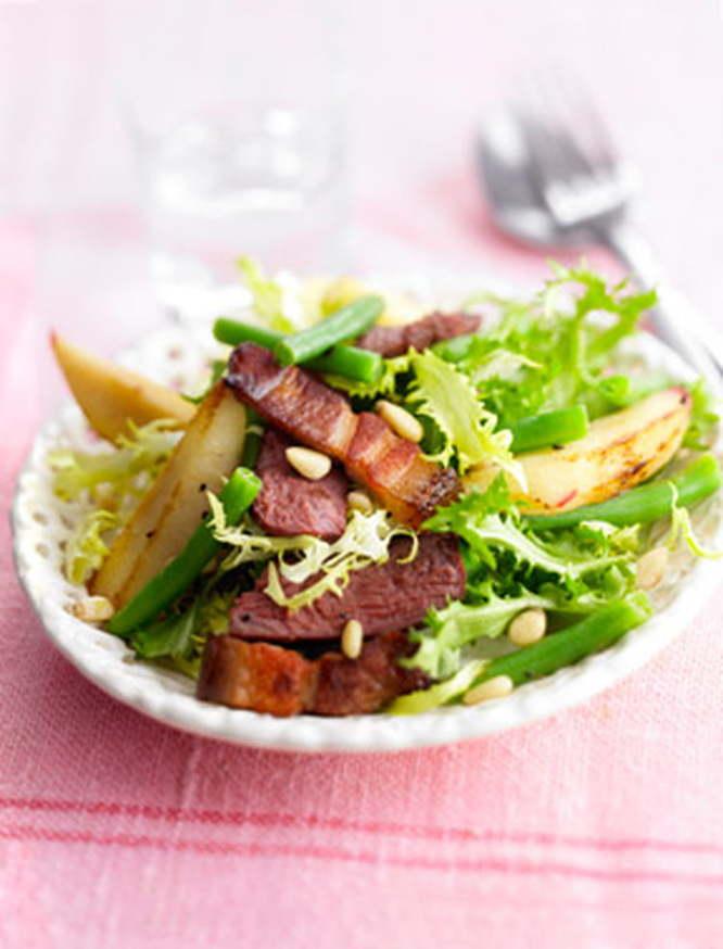 Salade périgourdine et ail noir Maison Boutarin