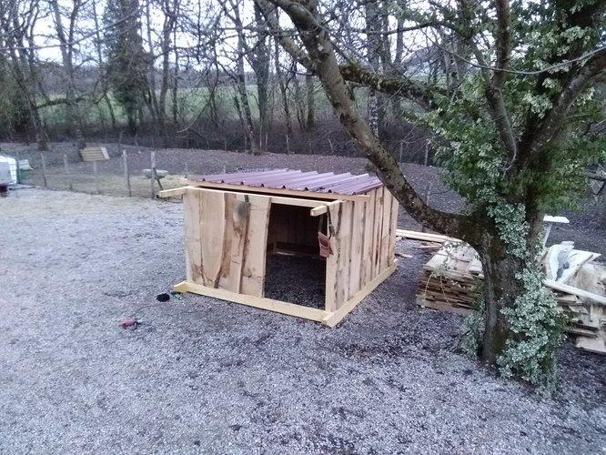 Notre prototype de cabane