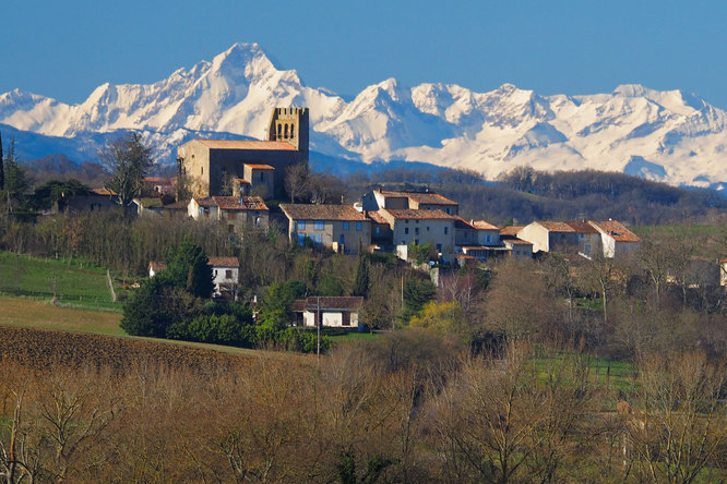 Plaigne, dans l'Aude.