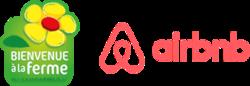 Logo airbnb bienvenuealaferme 2x