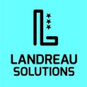 Logo landreau solutions fond bleu  %281%29