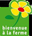Logo bienvenue a la ferme fond transparent