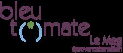 Logo bleu tomate le mag002