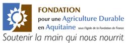 Logo fondation pour une agriculture durable nouvelle aquitaine