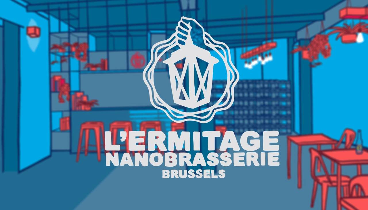 Image result for nanobrasserie l'ermitage logo
