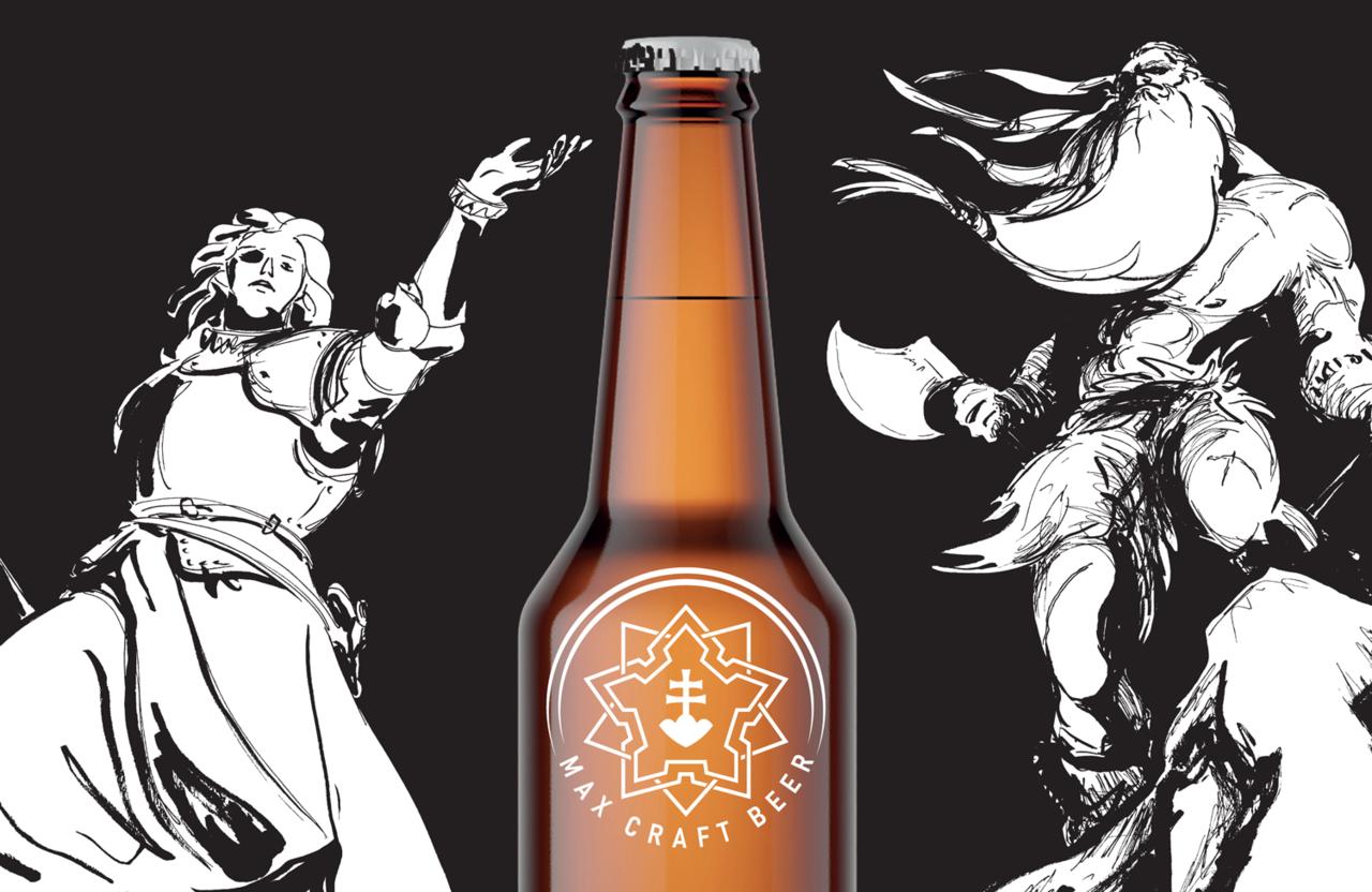 Banner of beer