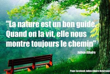 Nature bon guide