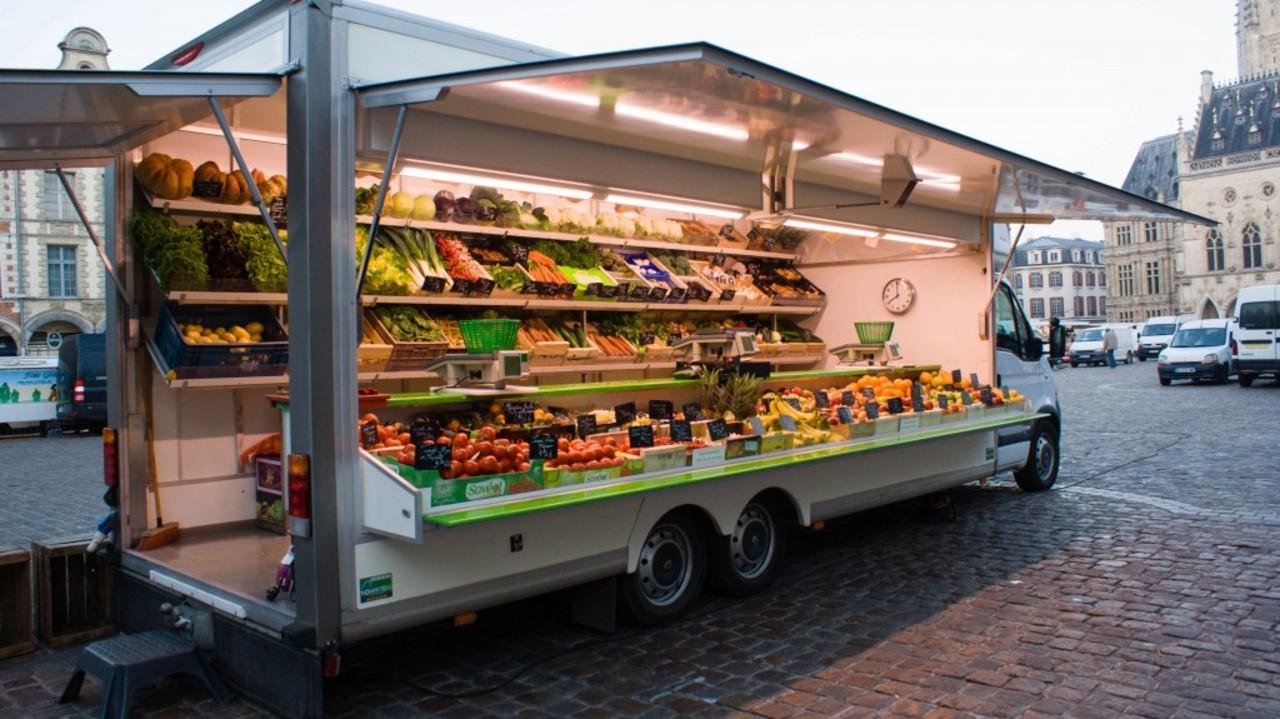 Camion fruits et l%c3%a9gumes
