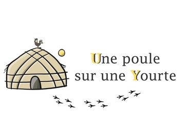 Photo une poule sur une yourte